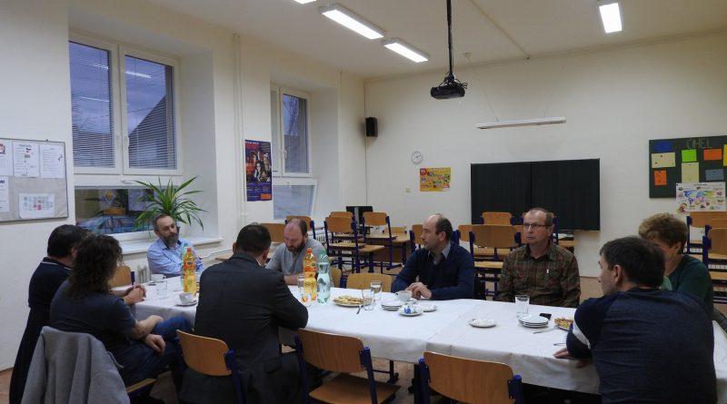 Návštěva představitelů újezdních obcí naší školy